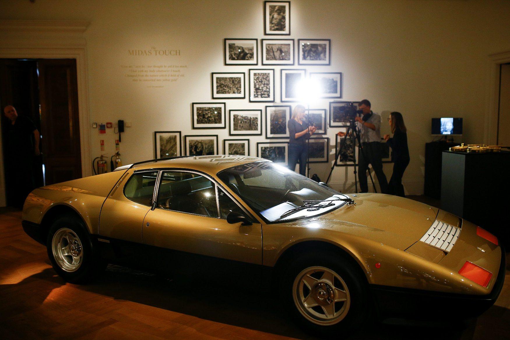 Zlatni Ferrari iz 1977.