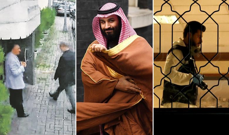 Jamal Khashoggi ulazi u konzulat Saudijske Arabije u Istanbulu; princ prijestolonasljednik Mohamed bin Salman; turski istražitelj obavlja očevid u konzulatu Saudijske Arabije u Istanbulu
