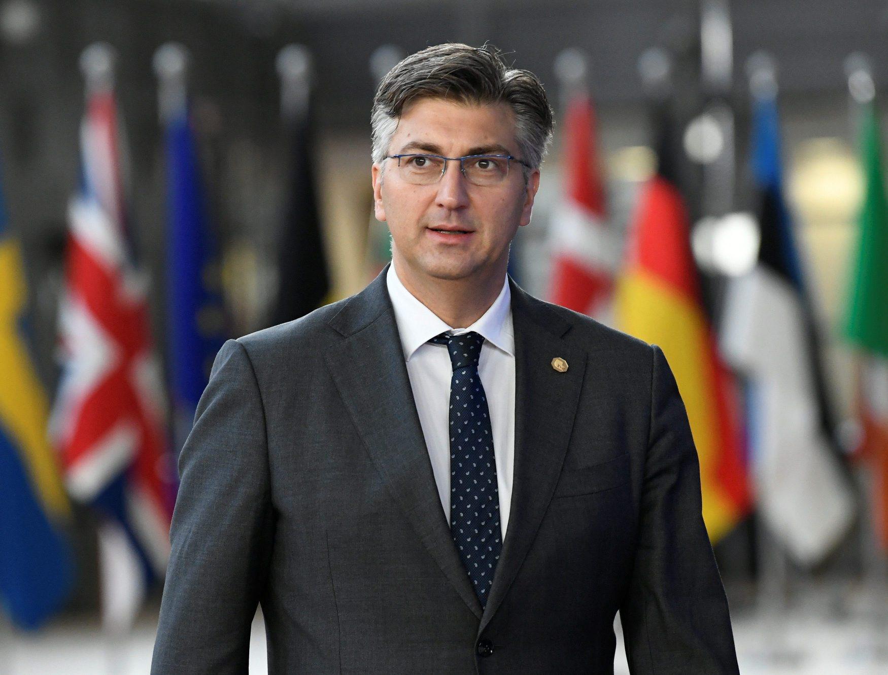 Andrej Plenković u Bruxellesu
