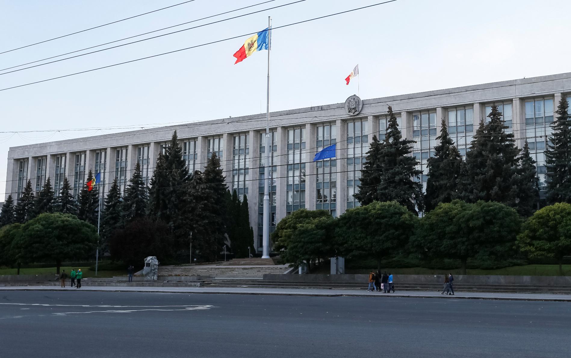 Zgrada moldavske vlade u Kišinjevu