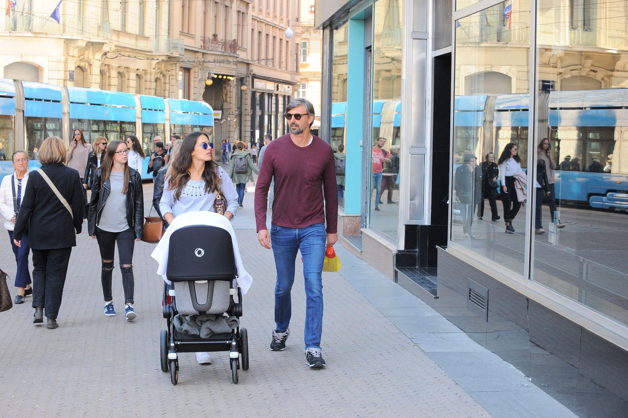 Spica / Zagreb 01.10.2018. / foto: Davor Matota / Goran Ivanisevic i supruga Nives Ivanisevic ex Canovic i sin Oliver