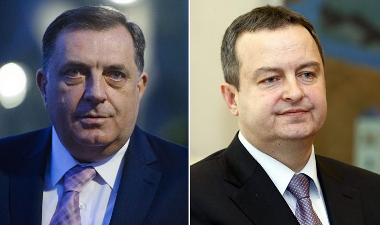 Milorad Dodik i Ivica Dačić