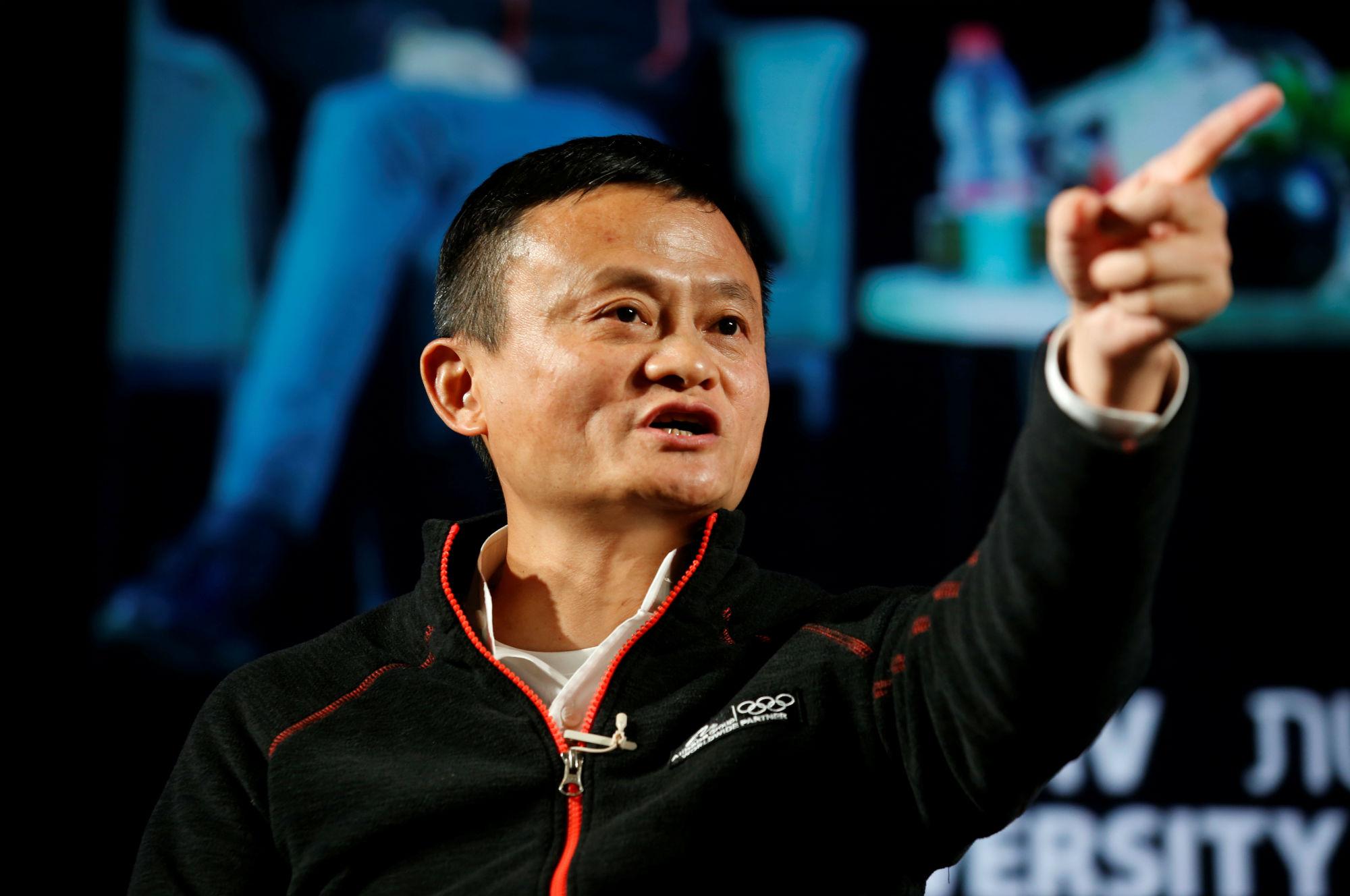 Čelnik Alibabe Jack Ma