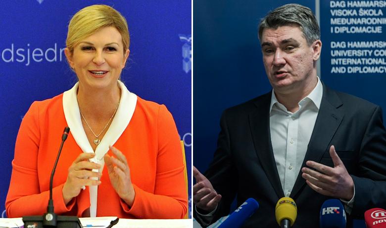 Kolinda Grabar-Kitarović, Zoran Milanović