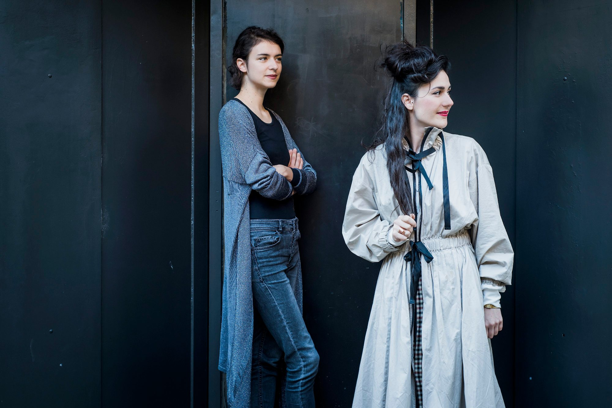 Lea Vene i Marina Paulenka