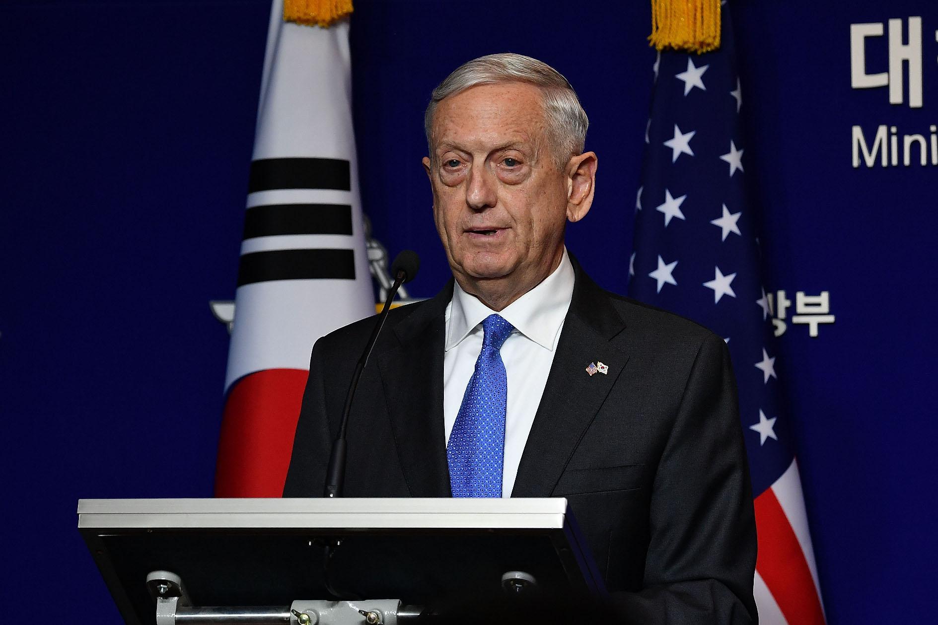 američki ministar obrane Jim Mattis