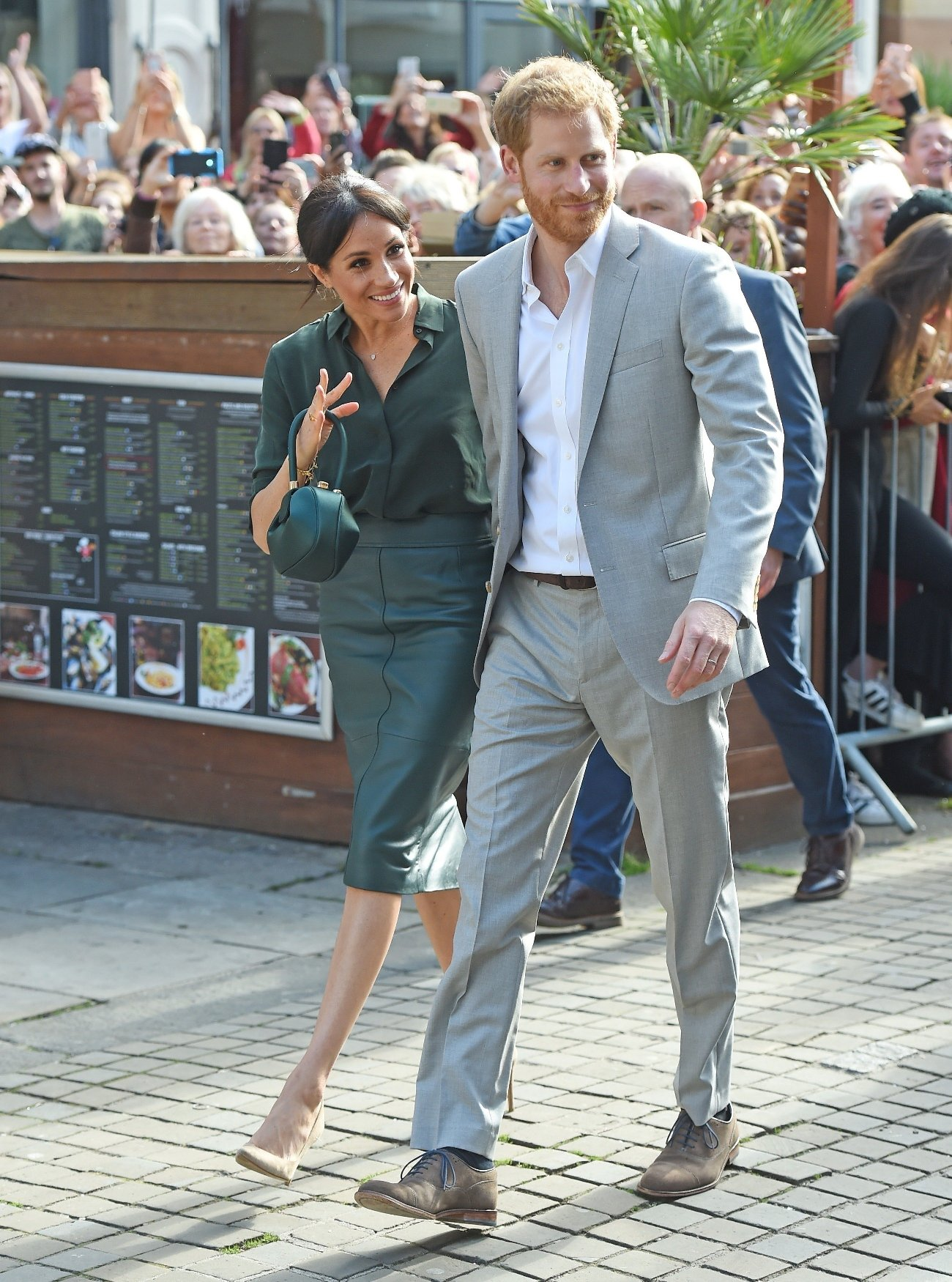BGUK_1357802 - London, UNITED KINGDOM  -   Prince Harry, Duke of Sussex and Meghan, Duchess of Sussex seen in Brighton on their tour of Sussex.  Pictured: Prince Harry, Duke of Sussex and Meghan, Duchess of Sussex  BACKGRID UK 3 OCTOBER 2018, Image: 389636056, License: Rights-managed, Restrictions: , Model Release: no, Credit line: Profimedia, Xposurephotos