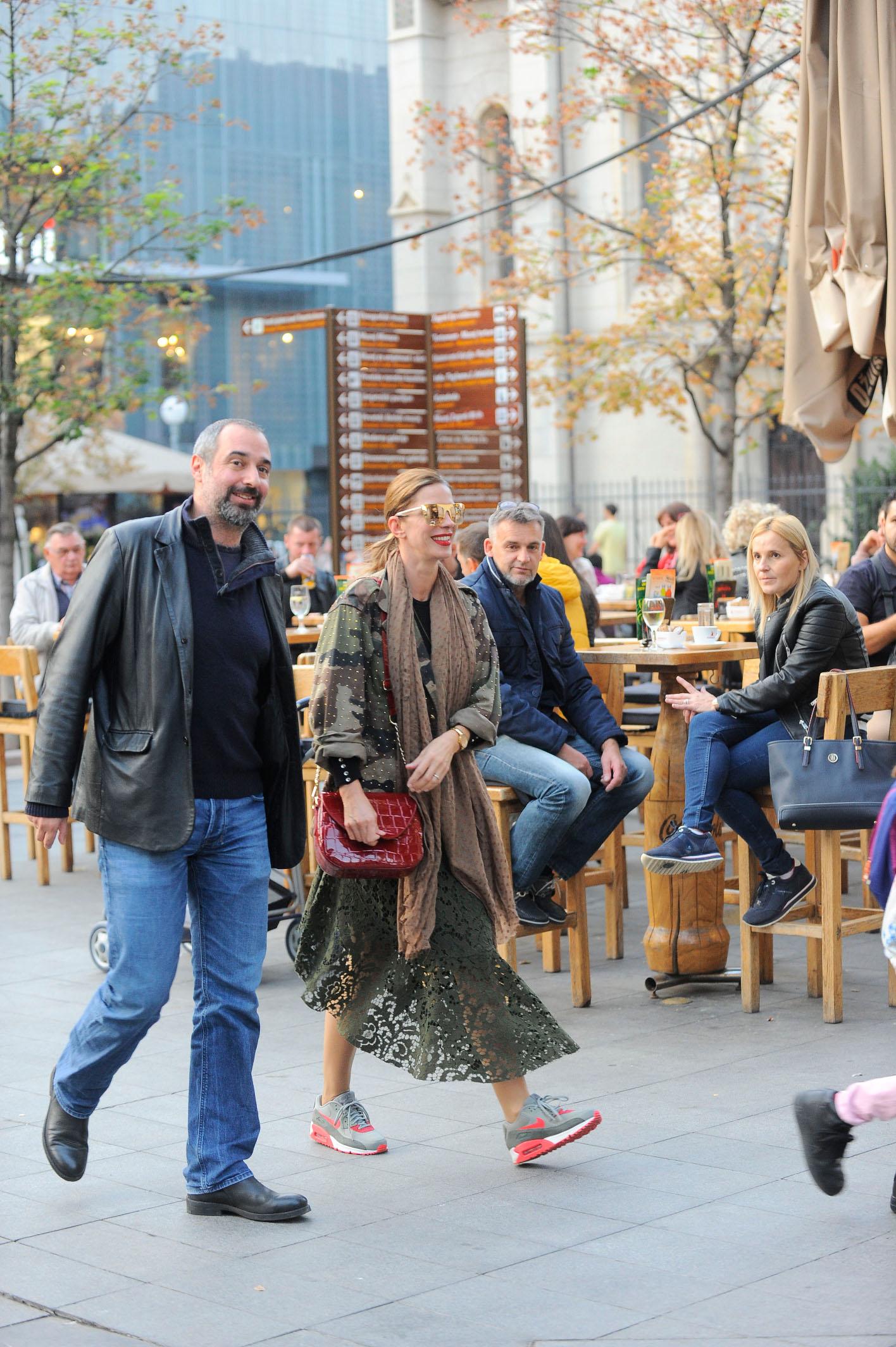 Spica / Zagreb 19.10.2018. / foto: Davor Matota / Bojana Gregoric Vejzovic i suprug enes vejzovic