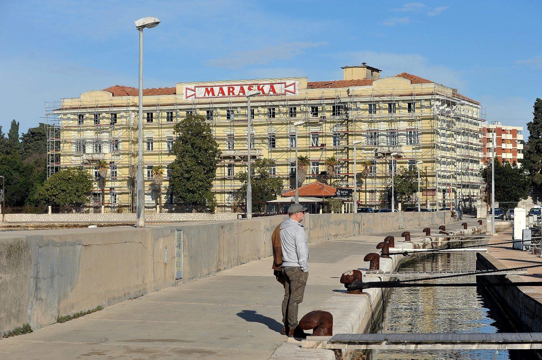 Budući Hotel Maraska na mjestu nekadašnje tvornice u Zadru