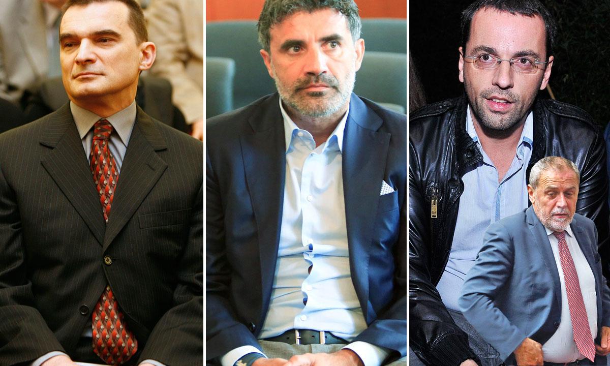 Vladimir Zagorec, Zoran Mamić, Roman Majetić, Milan Bandić
