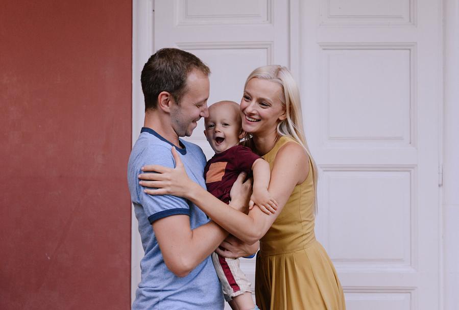Petra Kurtela i obitelj
