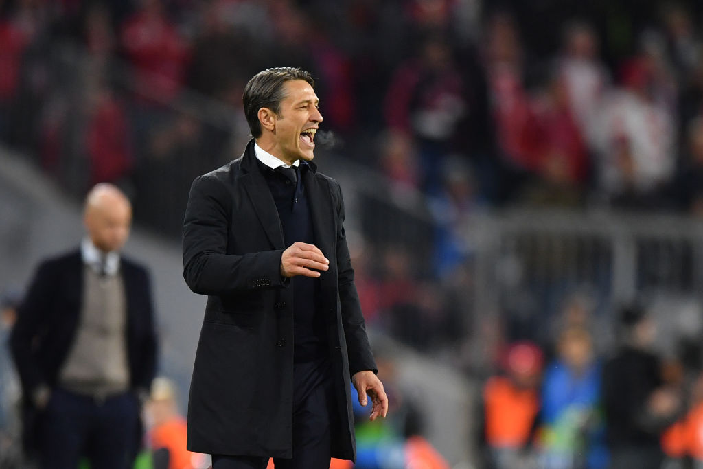 MUNICH, GERMANY - OCTOBER 02: Head coach Niko Kovac of Bayern Muenchen gestures during the Group E match of the UEFA Champions League between FC Bayern Muenchen and Ajax at Allianz Arena on October 2, 2018 in Munich, Germany. (Photo by Sebastian Widmann/Bongarts/Getty Images)