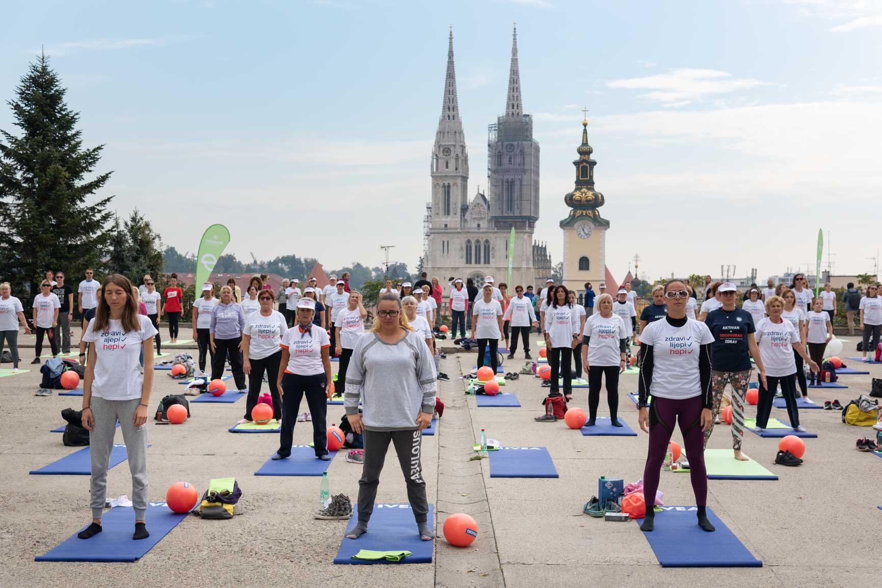 Trening Aktivna Hrvatska u Zagrebu