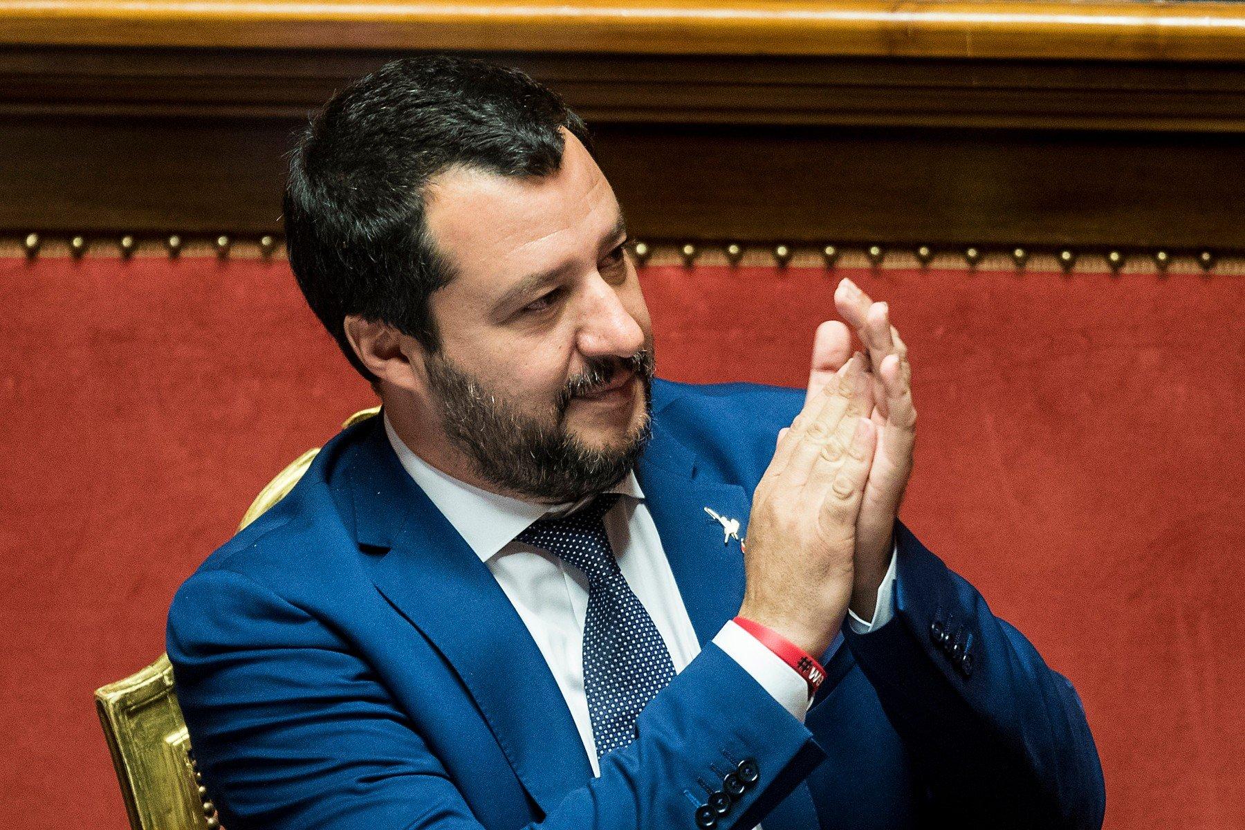 Potpredsjednik talijanske vlade Matteo Salvini