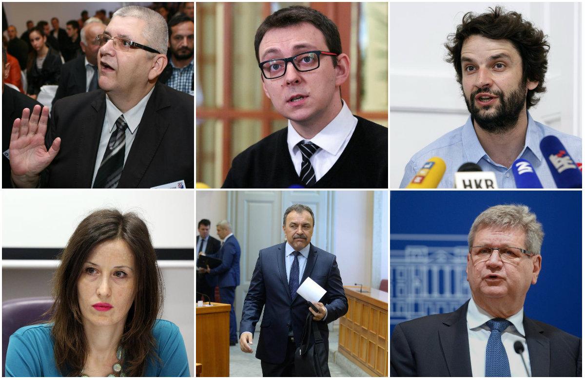 Anto Đapić, Bojan Glavašević, Boris Jokić, Dalija Orešković, Vlaho Orepić, Mirando Mrsić.