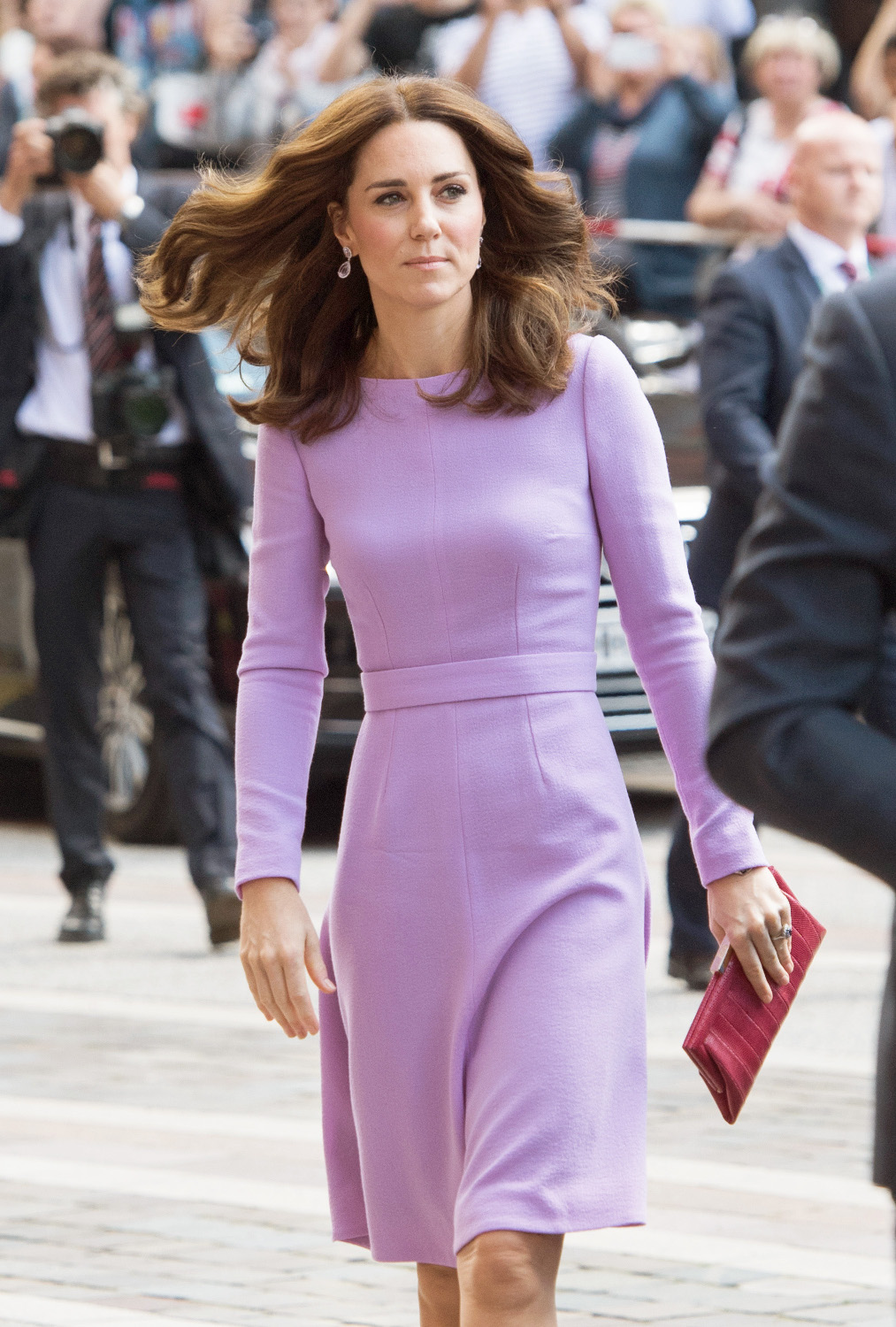 Kate & William visit The Maritime Museum in Hamburg, Germany. <P> Pictured: Kate Middleton; Kate; Duchess of Cambridge <B>Ref: SPL1545065  260717  </B><BR/> Picture by: Retropix / Splash News<BR/> </P><P> <B>Splash News and Pictures</B><BR/> Los Angeles:310-821-2666<BR/> New York:212-619-2666<BR/> London:870-934-2666<BR/> <span id=