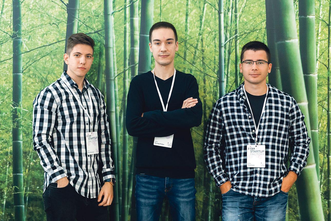 Domagoj Krakan, David Lozić i Mirko Pavlinović - Emple