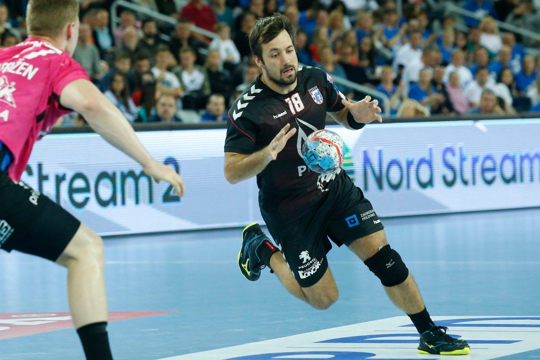Zagreb, 101118. Arena. Utakmica 7. kola Velux EHF Lige prvaka, PPD Zagreb - RK Celje Pivovarna Lasko. Na fotografiji: Zlatko Horvat. Foto: Marko Todorov / CROPIX