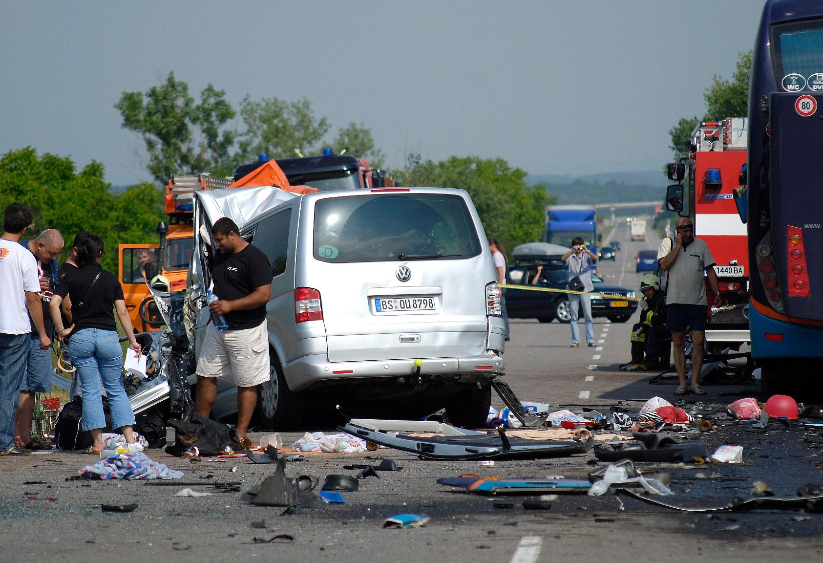 Ilustracija, prometna nesreća u Bugarskoj