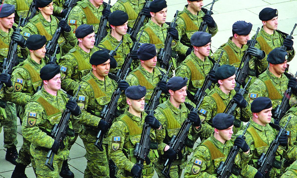 kosovo vojska