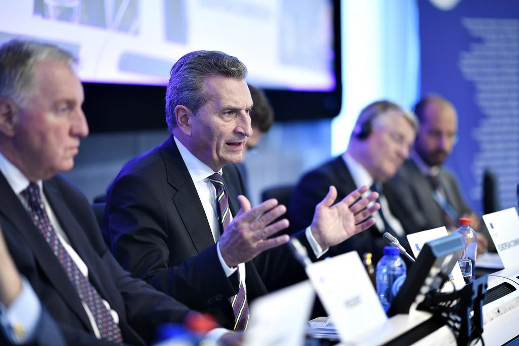 Gunther Oettinger, povjerenik Europske komisije za proračun