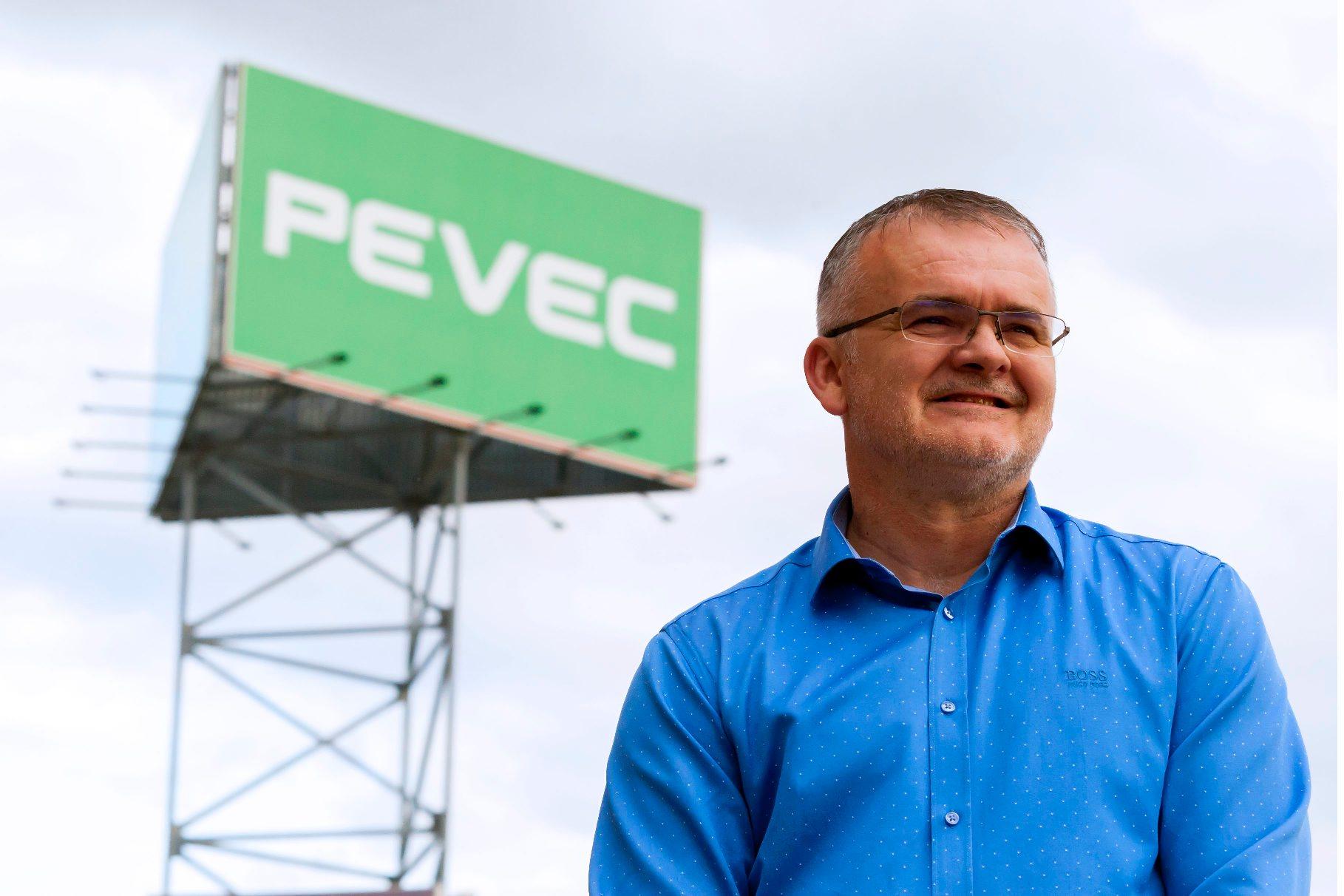 Zagreb, 311018. Savska cesta 84, Sesvete. Na fotografiji: Jurica Lovrincevic - predsjednik Uprave Peveca. Foto: Tomislav Kristo / CROPIX