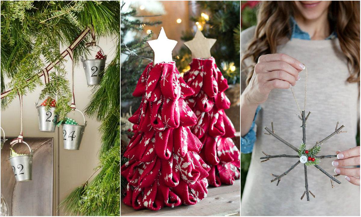 božićni ukrasi collage