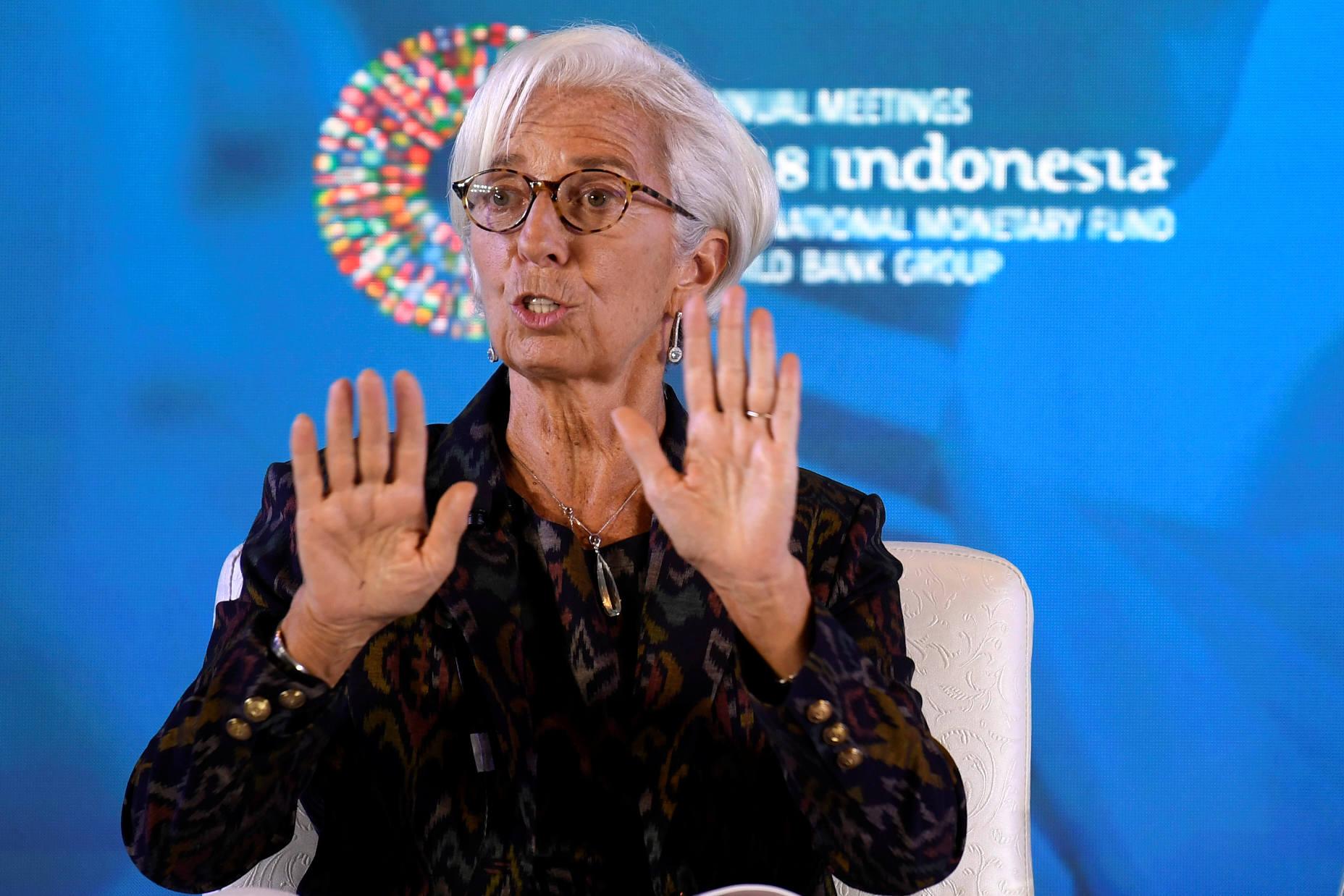 Christine Lagarde, izvršna direktorica Međunarodnog monetarnog fonda
