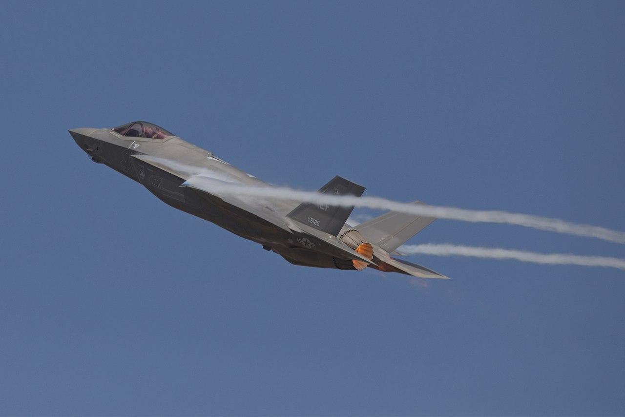 F-35A u letu