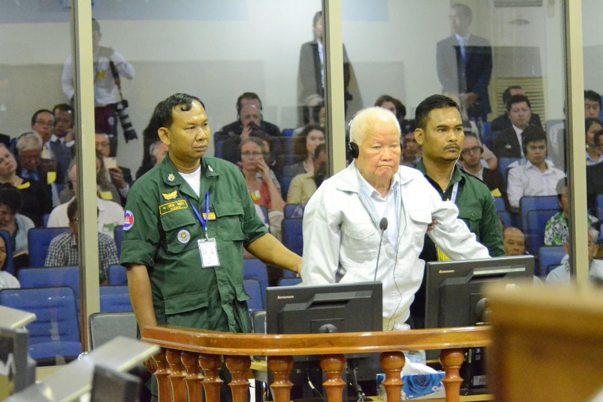 Suđenje bivšem pripadniku Crvenih Kmera Khieu Samphanu