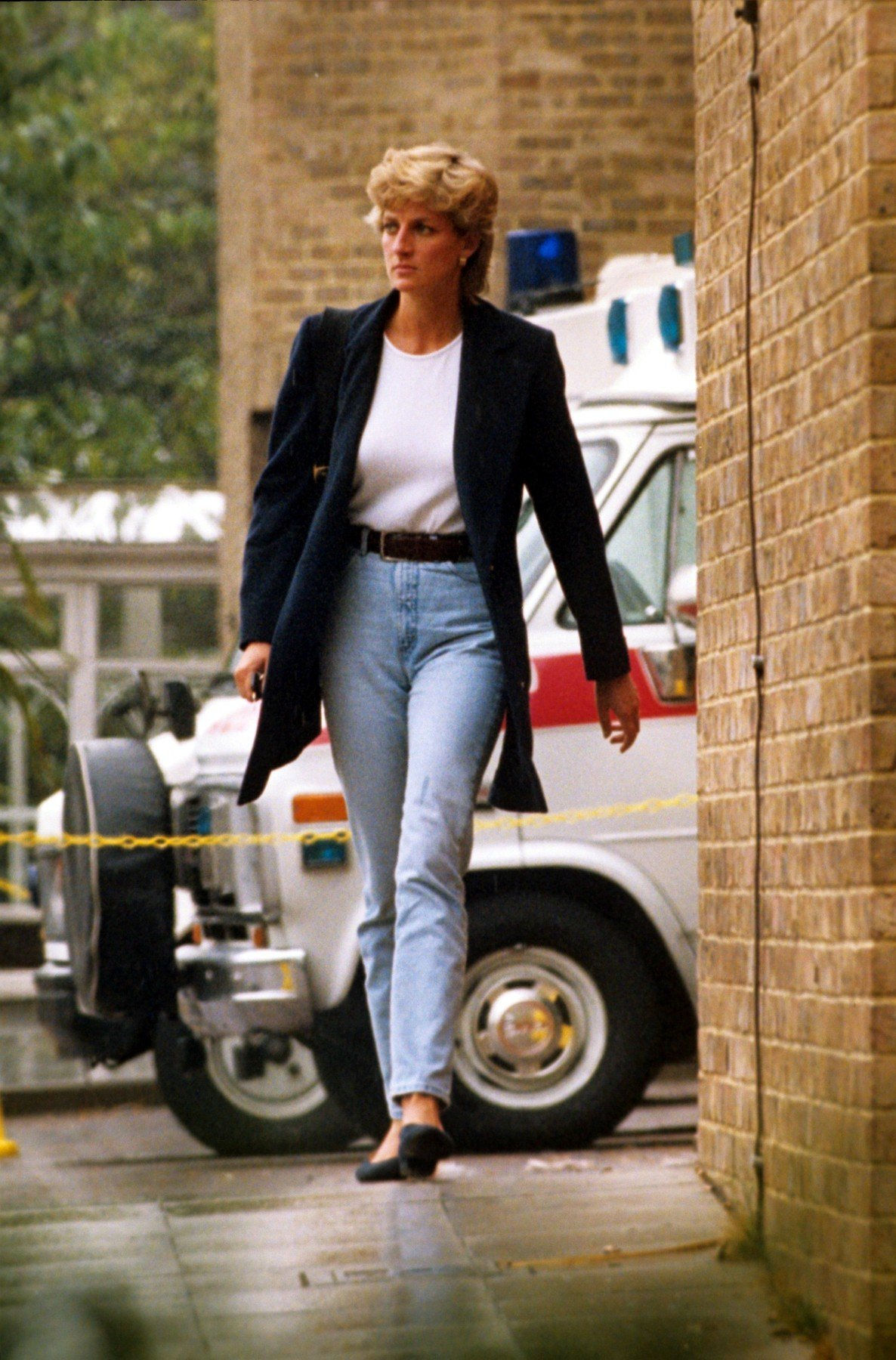 Princess Diana Princess Diana visiting Royal Brompton Hospital, Chelsea, London, Britain - Sep 1995, Image: 224824166, License: Rights-managed, Restrictions: , Model Release: no, Credit line: Profimedia, TEMP Rex Features