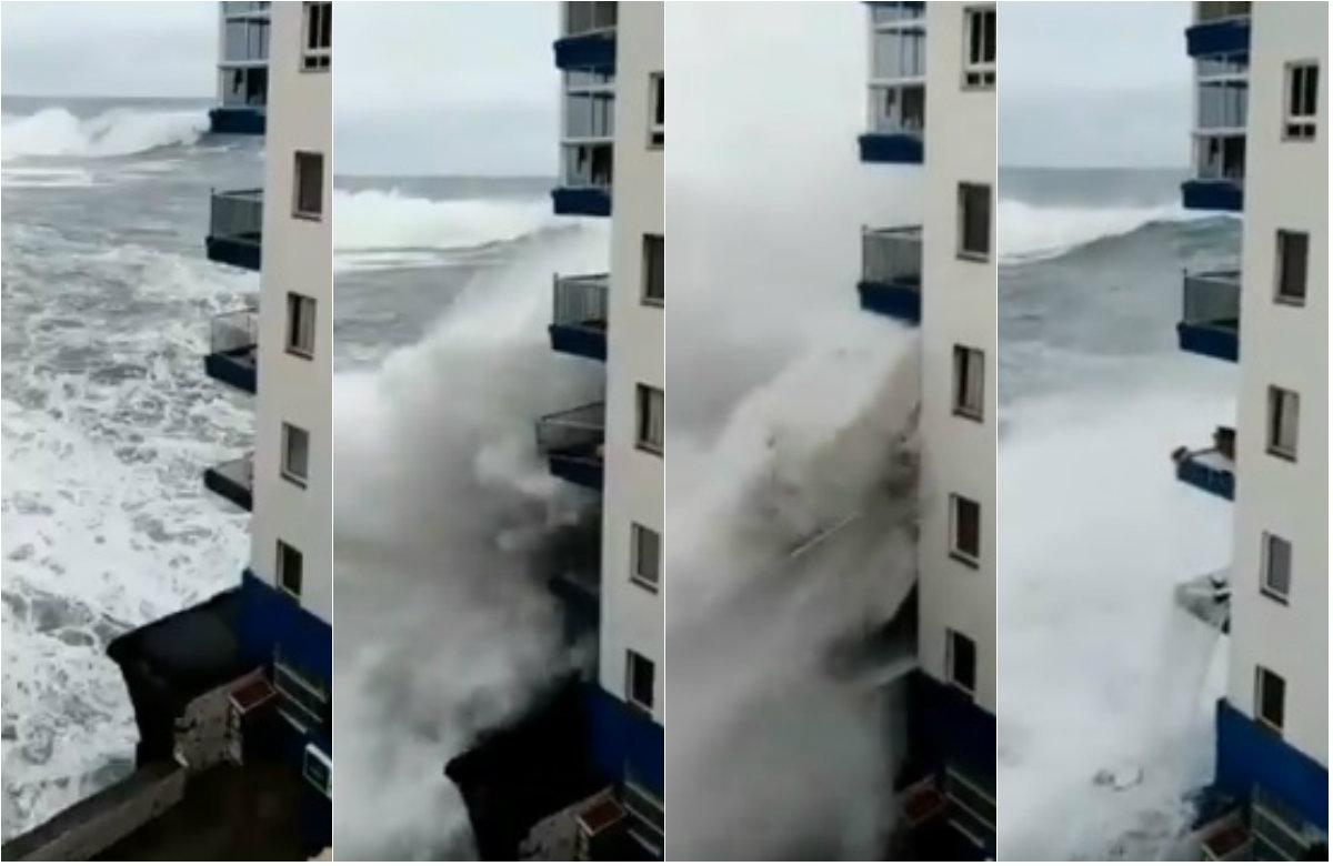 Masivni valovi na Tenerifima