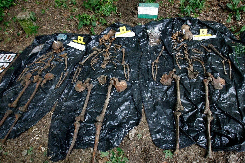 Ilustracija (ekshumacija posmrtnih ostataka žrtava iz Drugog svjetskog rata u Gračanima)