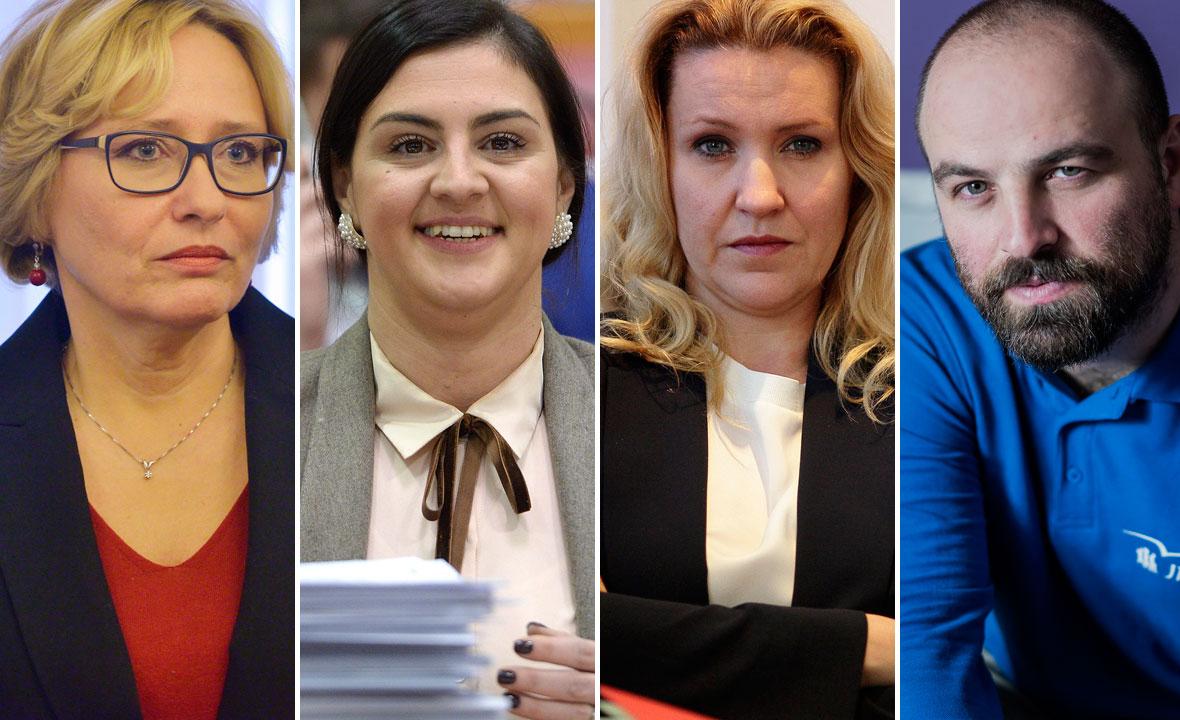 Lora Vidović, Ivana Ninčević Lesandrić, Nataša Novaković i Tvrtko Barun