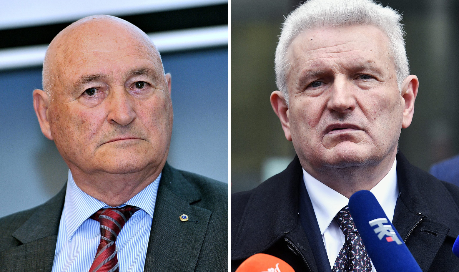 Branko Roglić i Ivica Todorić