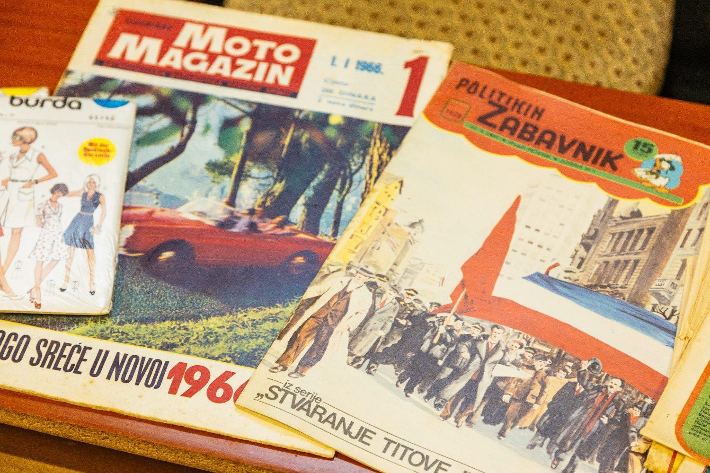 Dubrovnik, 211118. Neki od predmeta i idejni osnivaci Muzeja crvene povijesti u Tvornici ugljicnih proizvoda u Gruzu. Foto: Bozo Radic / CROPIX.