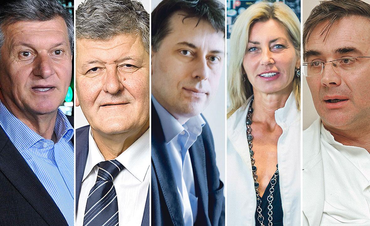 Milan Kujundžić, Ante Ćorušić, Darko Marčinko, Dinka Pavičić Baldani i Berivoj Mišković