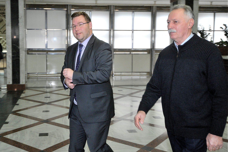 Marko Pavić, ministar rada i Branimir Mikulinec, predsjednik Sindikata zaposlenih u srednjim školama