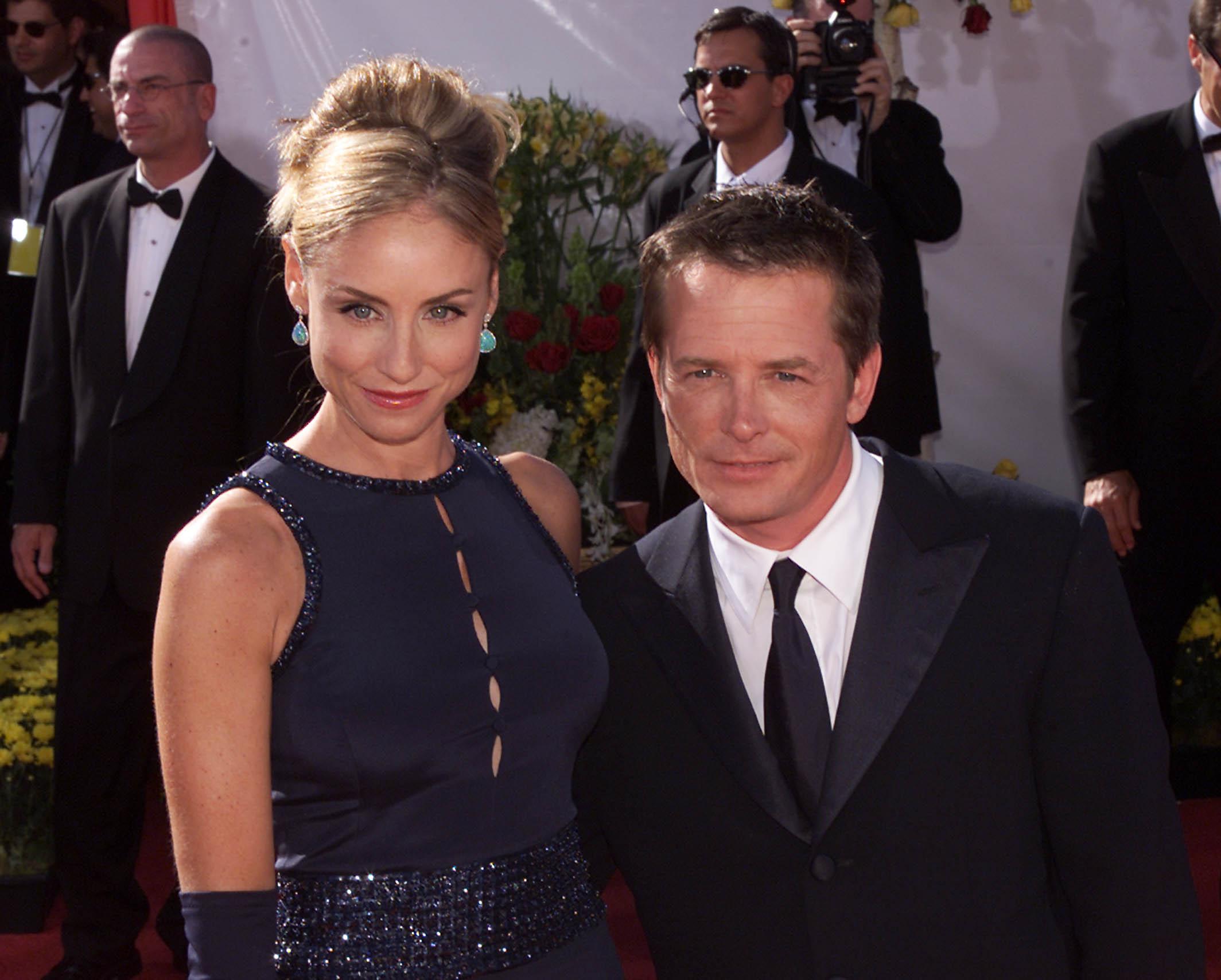 Michael J. Fox sa suprugom Tracy Pollan