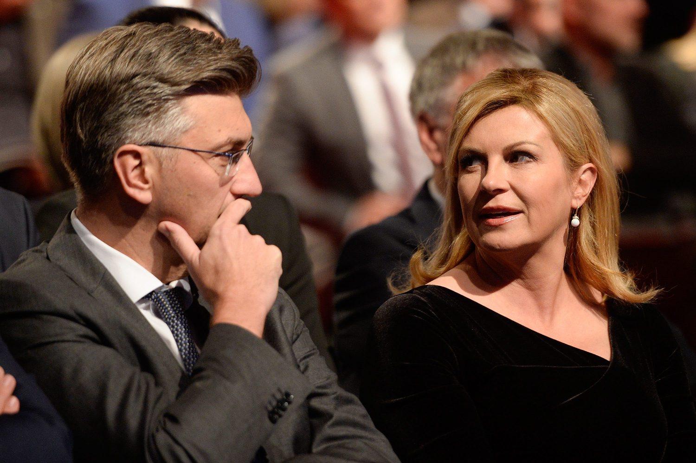 Premijer Andrej Plenković i predsjednica Kolinda Grabar-Kitarović