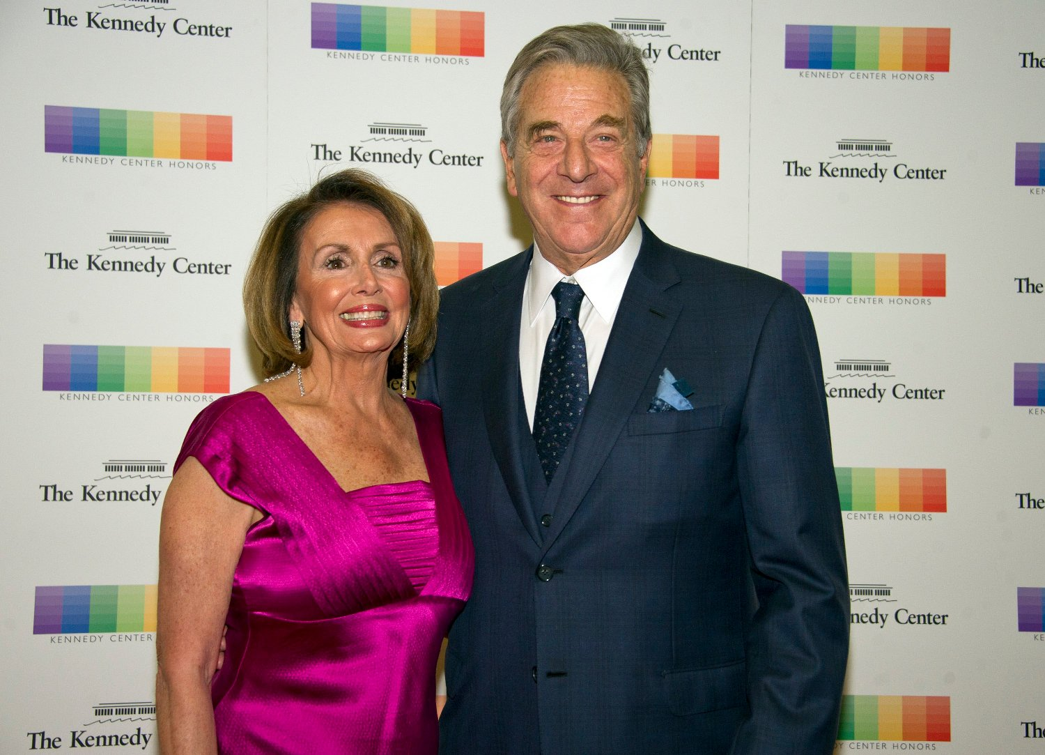 United States House Minority Leader Nancy Pelosi (Democrat of California) and her husband, Paul, arrive for the formal Artist's Dinner honoring the recipients of the 40th Annual Kennedy Center Honors hosted by United States Secretary of State Rex Tillerson at the US Department of State in Washington, D.C. on Saturday, December 2, 2017. The 2017 honorees are: American dancer and choreographer Carmen de Lavallade; Cuban American singer-songwriter and actress Gloria Estefan; American hip hop artist and entertainment icon LL COOL J; American television writer and producer Norman Lear; and American musician and record producer Lionel Richie., Image: 356766872, License: Rights-managed, Restrictions: , Model Release: no, Credit line: Profimedia, ADMedia