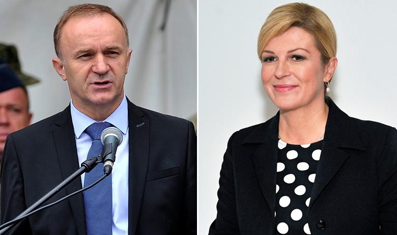 Vlado Galić, Kolinda Grabar-Kitarović
