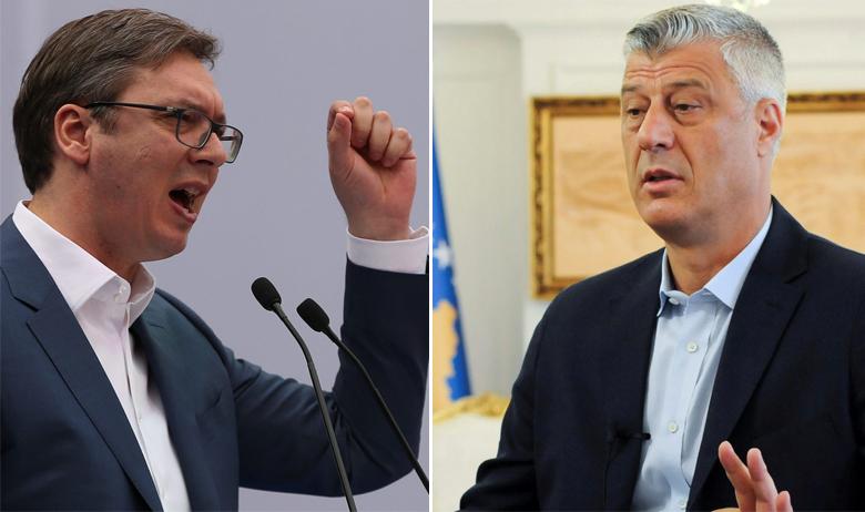 Aleksandar Vučić, Hashim Thaci