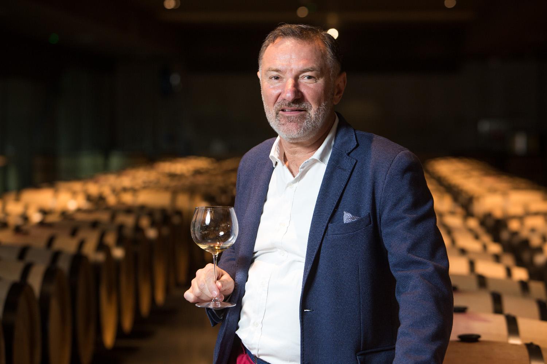 Kutjevo, 280628. Nova vinarija Galic u Kutjevu. Na fotografiji: Josip Galic vlasnik vinarije Galic. Foto: Vlado Kos / CROPIX -Nedjeljni-