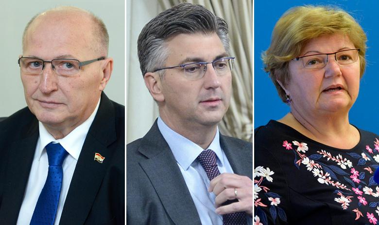 Miroslav Šeparović, Andrej Plenković, Nada Murganić