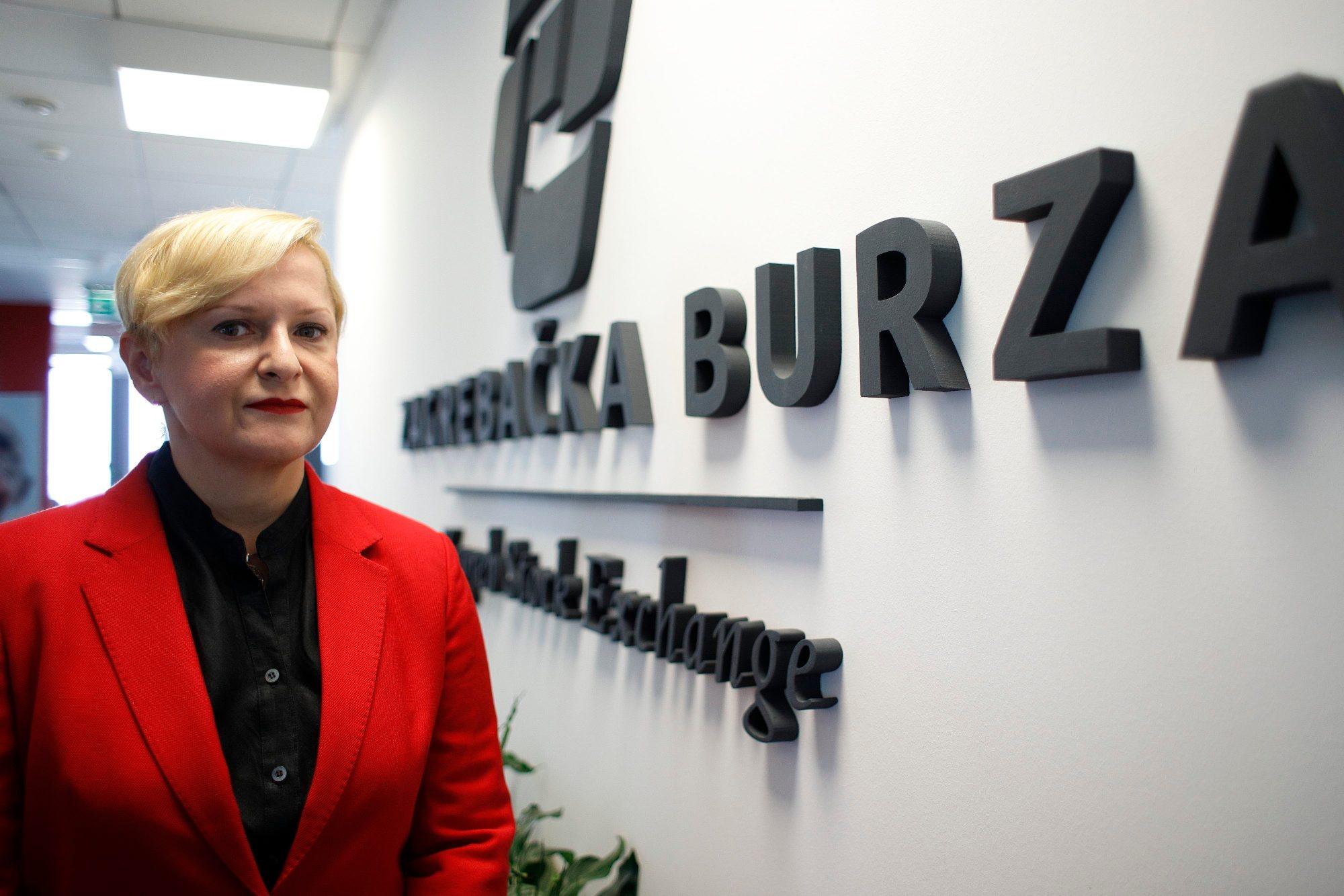 Ivana Gažić, predsjednica Uprave Zagrebačke burze