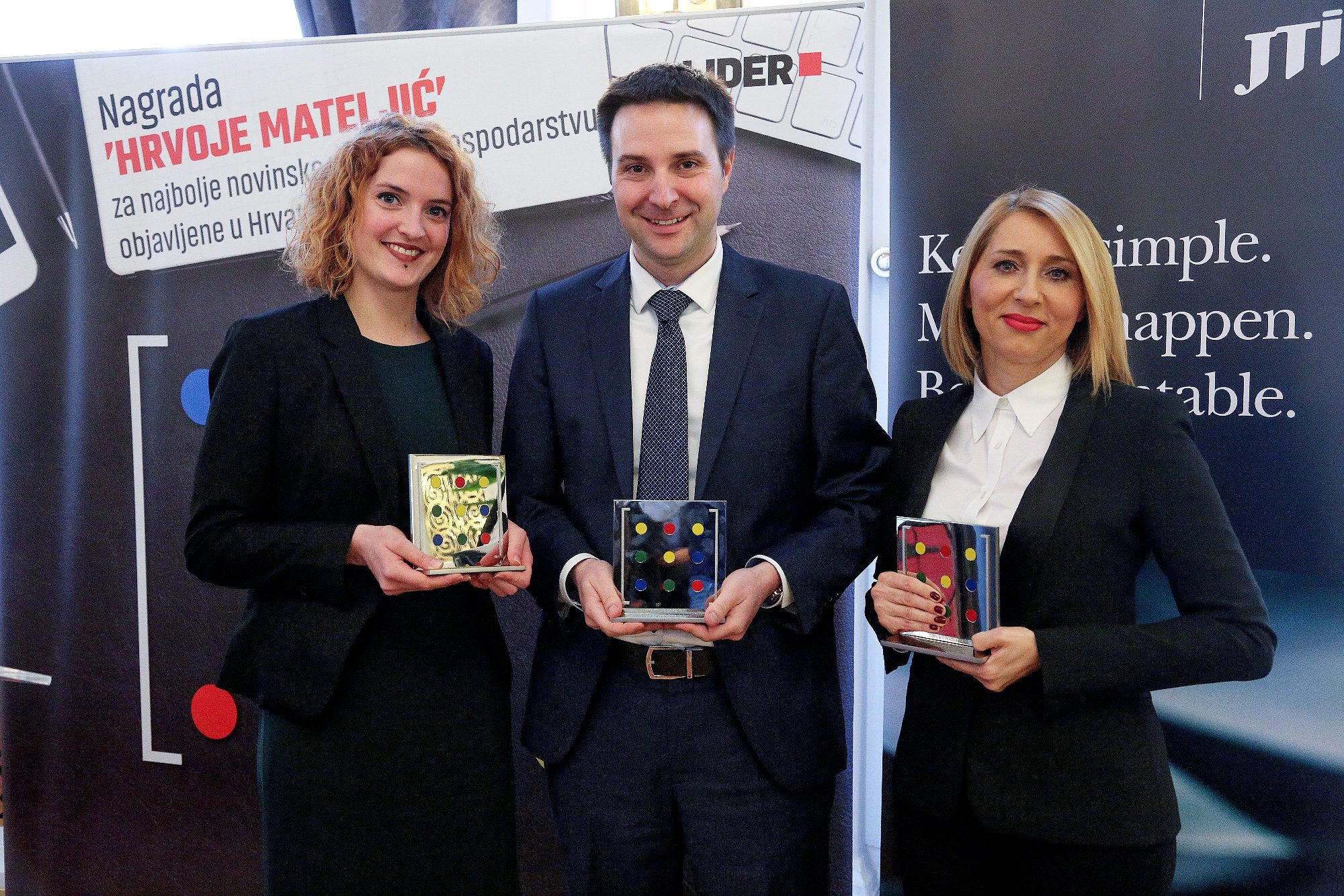 Iva Grubiša, Marko Biočina i Sanja Smiljanić