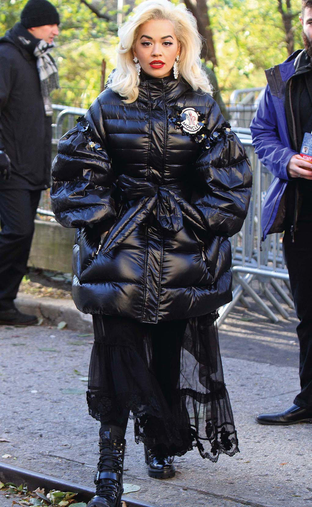 Rita Ora at the Macy's Thanksgivings Day Parade in Midtown Manhattan. New York City, New York - Thursday November 22, 2018., Image: 397809050, License: Rights-managed, Restrictions: N, Model Release: no, Credit line: Profimedia, Pacific coast news