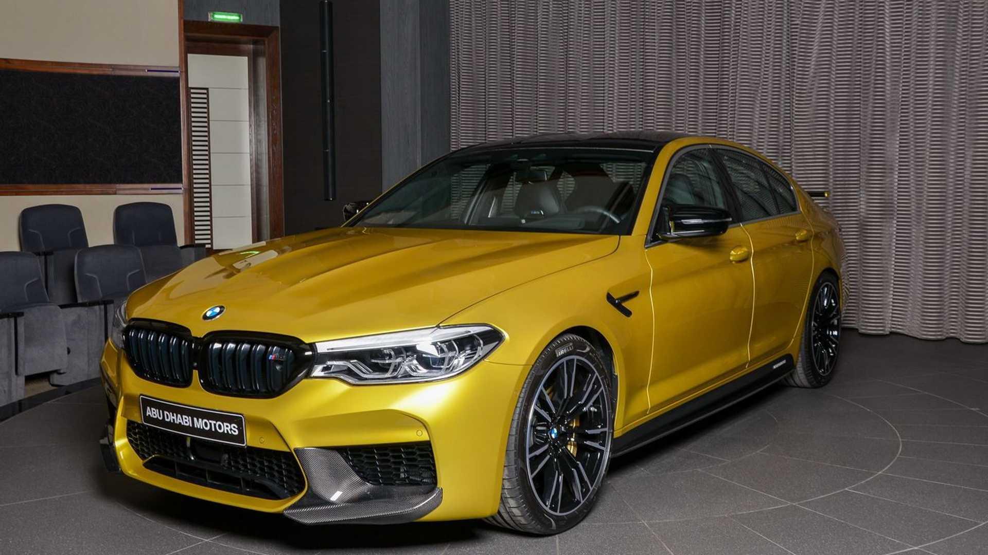 bmw-m5-competit2ion-austin-yellow
