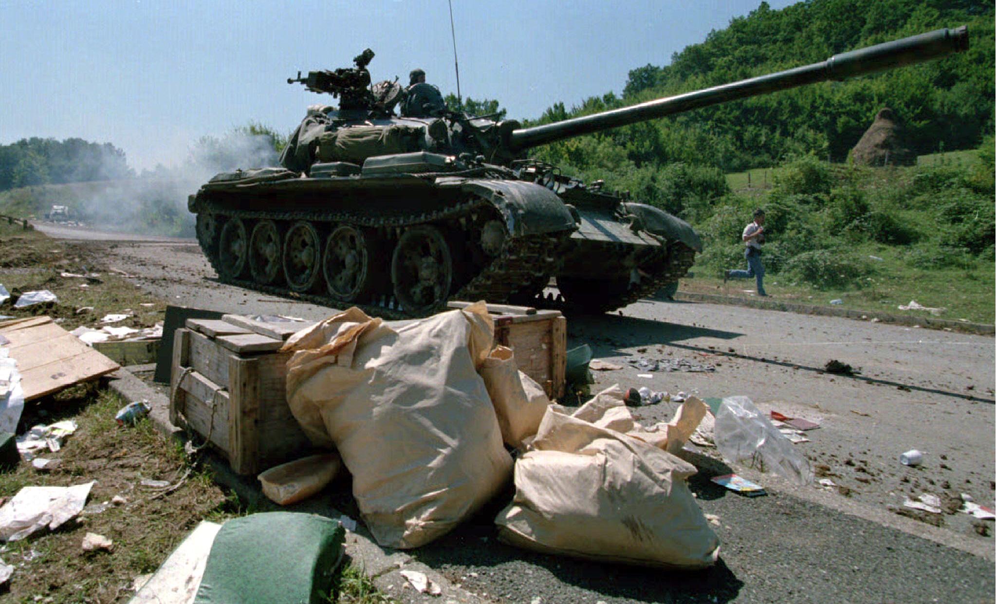 Ilustracija: tenk Hrvatske vojske u kolovozu 1995.